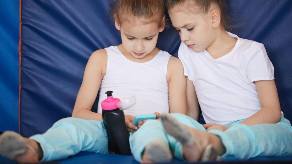 Gioco e sport tra sorelle